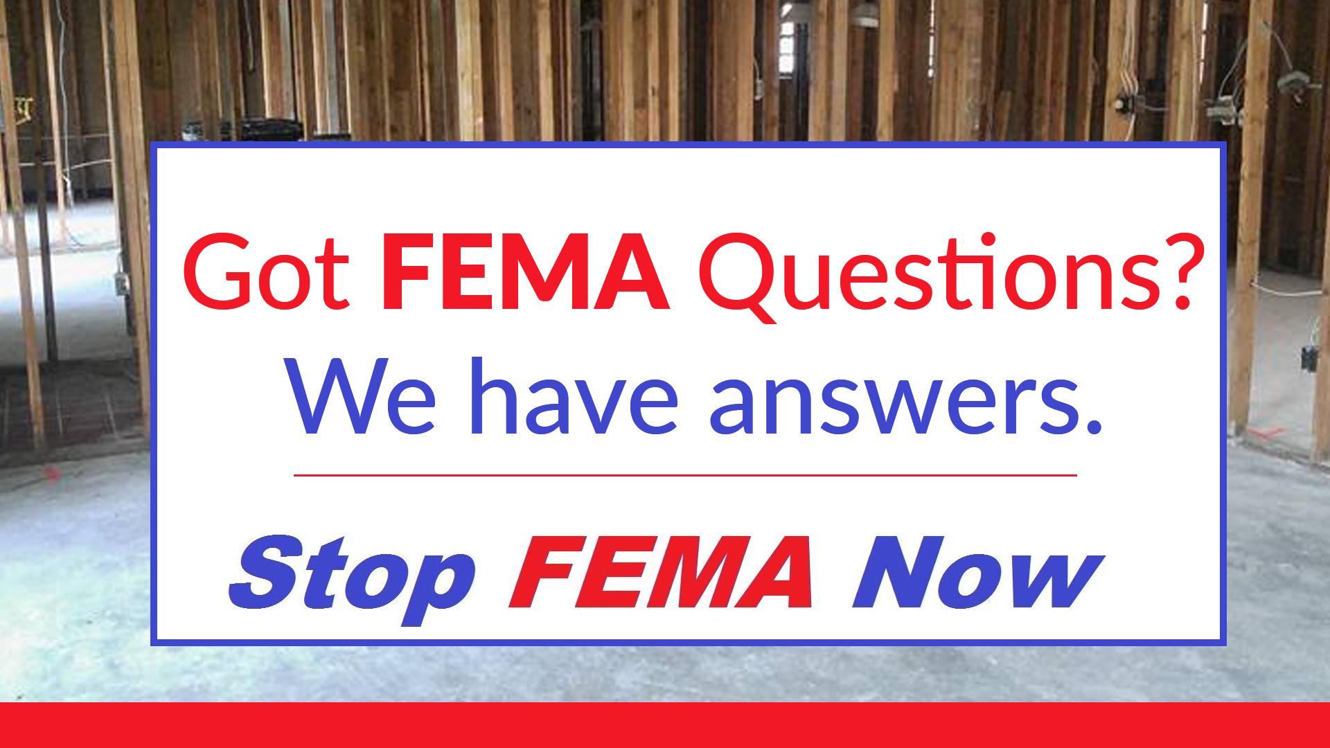 Louisiana - Stop FEMA Now